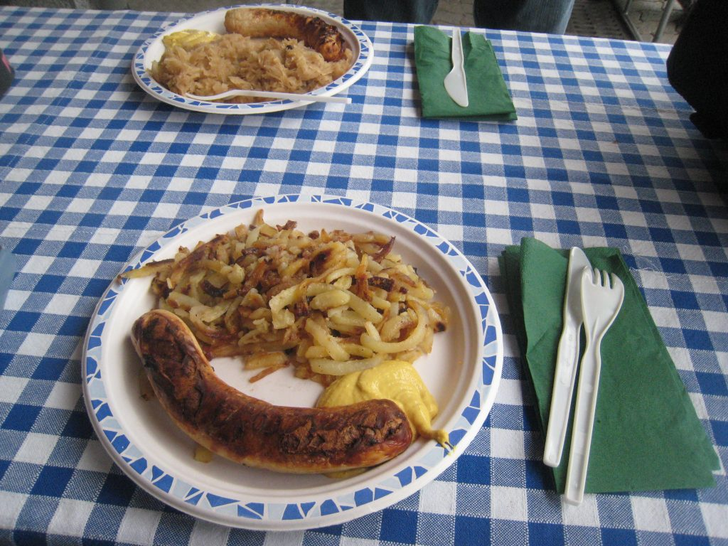 A plate of food on a table  Description automatically generated